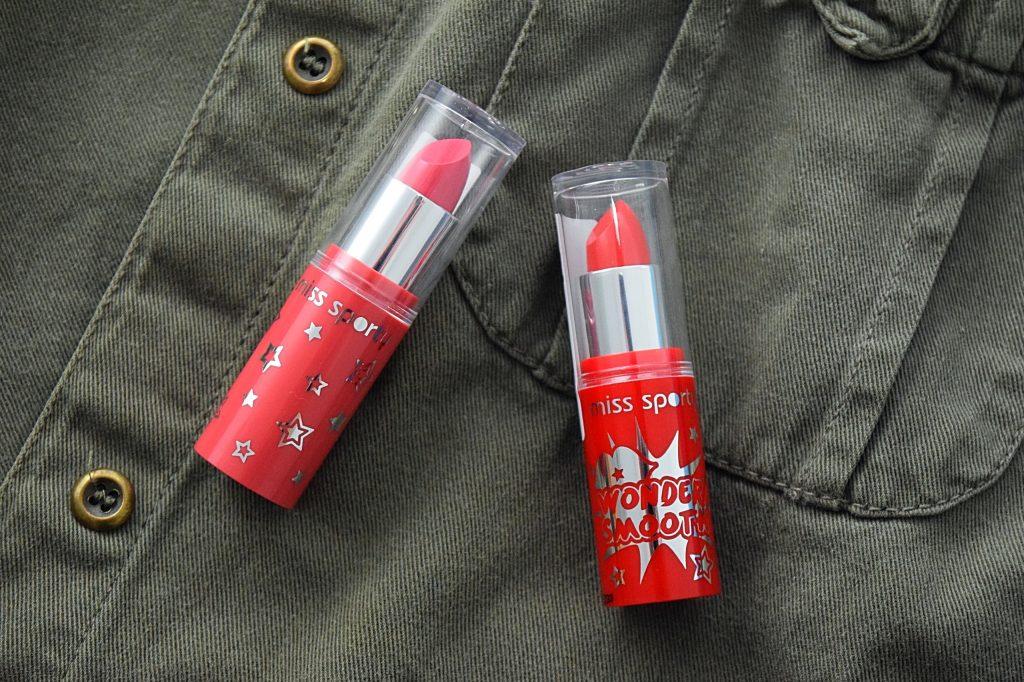 Miss Sporty Wonder Smooth lipsticks