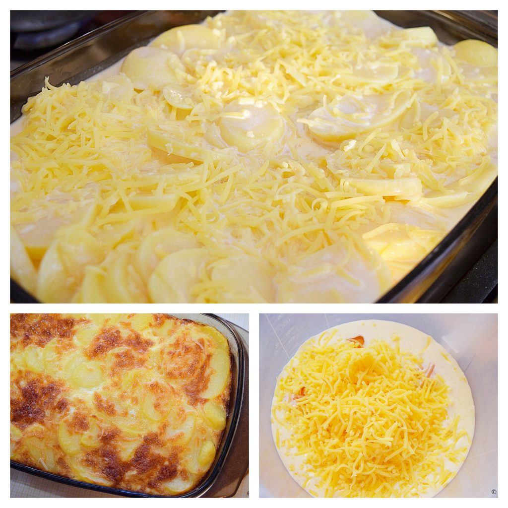 Aardappel ovengerecht met een vleugje kaas