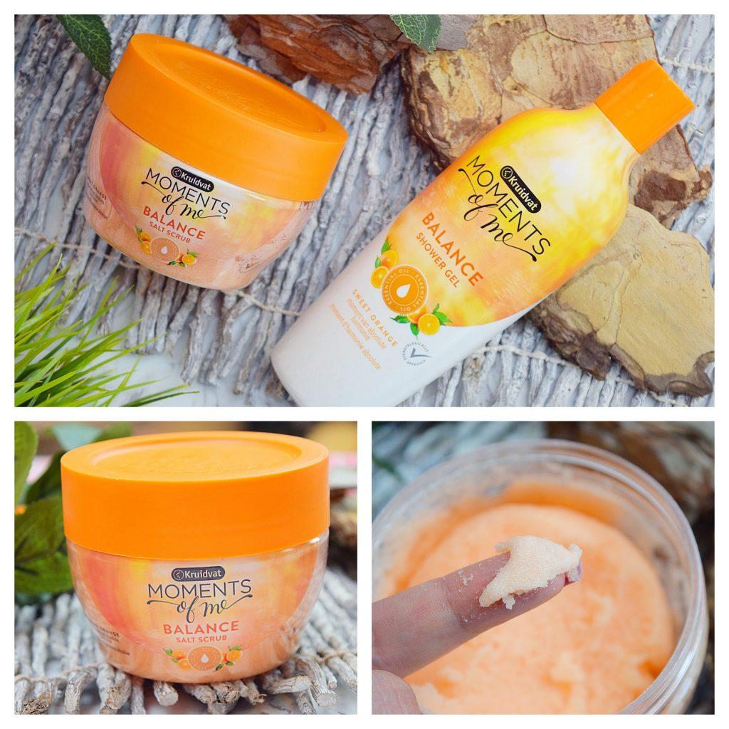 Een verwenmomentje met Kruidvat Sinaasappel producten