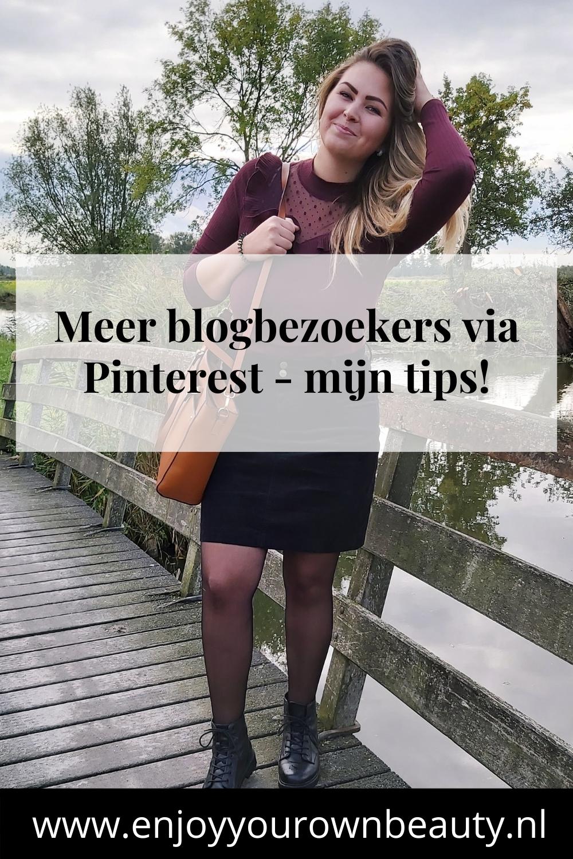 Meer blogbezoekers via Pinterest