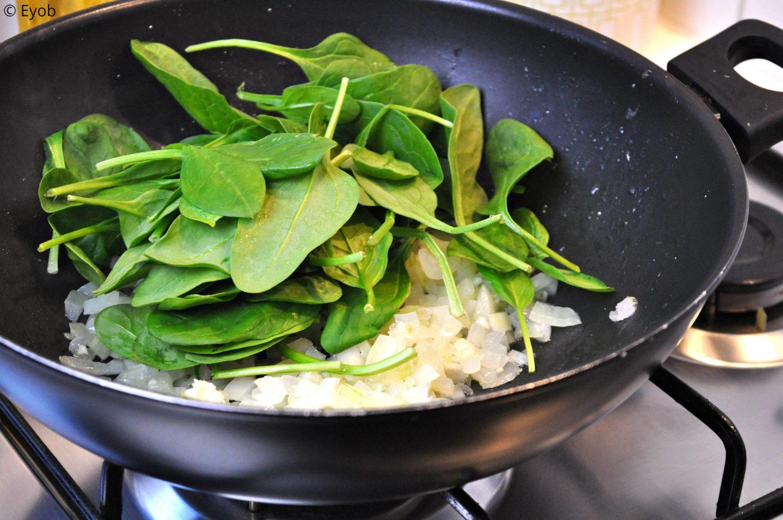 Lasange met spinazie en ricotta