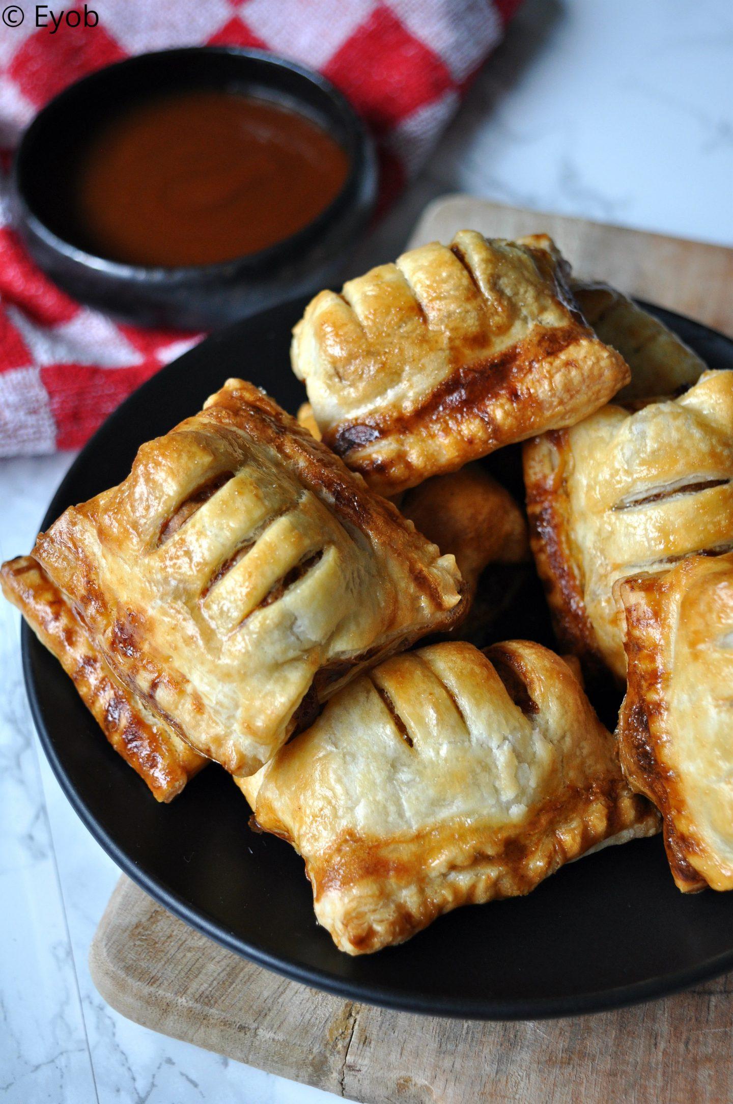 Mini Frikandelbroodjes